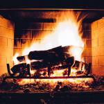 A Gas Log Fireplace vs A Traditional Wood Fireplace